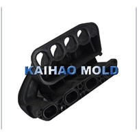 automobile air pipe part plastic injection mould