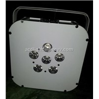 Battery Powered & Wireless Dmx LED Flat Par Light,Wireless Dmx LED Light,Wireless Dmx LED Par Light