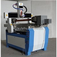 best price 4 axis double chuck cnc cutting machinery metal