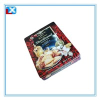 biscuit square tin box