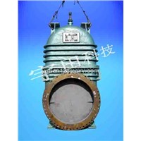 cold blast valve for steel plant