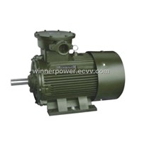 explosion-proof electric motor YB2,YB3