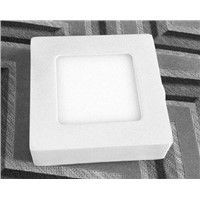 high lumen surface mounted LED panel light 6W