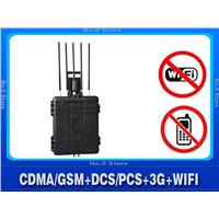 high power call phone mobile phone signal jammer
