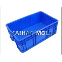injection fishing crate container mold