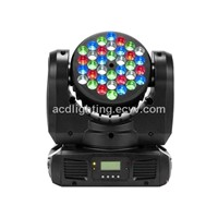 LED Moving Head Beam Light, 36*3W RGB LED Stage Moving Head Washer