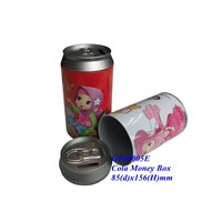 metal coin banks, metal money box, money tin, tin money can, tin money box ,saving tin can
