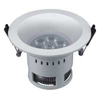 new plastic material downlight