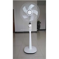 rechargeable stand fan with led light