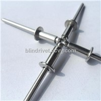 stainless steel blind rivet open type dome head