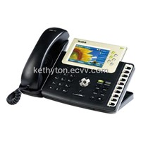 Yealink SIP-T38G Color Screen 6 Line SIP Phone SIP T38G SIP IP VOIP OFFICE PHONE TELEFONE