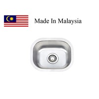 1512 CUPC stainless steel sink Made In Malaysia