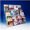 6 Tier Counter Greeting Card Rack Acrylic Card Display Stand