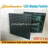 High Resolution P10 Outdoor Full Color LED Modules RGB LED Module LED Panel