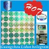 Supply all kinds of green hologram label sticker