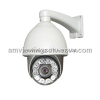 100m IR Infrared Auto Light-Controller Low Speed Dome Camera, Night Vision Speed Dome