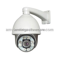 120m Auto Dimming Intelligent IR Infrared High Speed Dome Camera,Waterproof Night Vision Outdoor