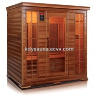 4peson carbon infrared sauna KD-5004HT