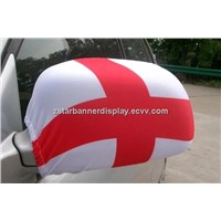 Car mirror cover, car mirror sock, car mirror banner, car mirror flag