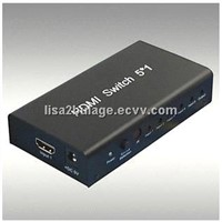 HDMI switcher 5*1 support 3D