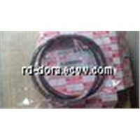 ISUZU 6HK1 engine parts genuine piston ring;OEM:8-9391502-4