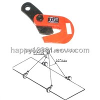 L plate horizontal lifting clamp