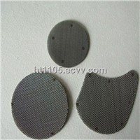 Point weld multilayer SS filter disc