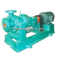 R hot water circulating pump