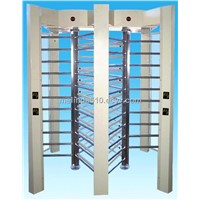 Stainless steel Fingerprint Full Height Turnstile