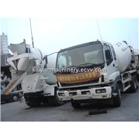 Used Concrete Pump Isuzu 8C8M in Good Condition