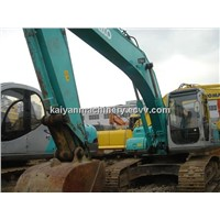 Used Excavator Kobelco SK200 in Good Condition