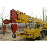 Used KATO NK-350E (I)  Truck Crane Good Condition-Kato 35t