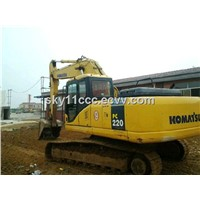 Used Komatsu PC220-7 Excavator with Good Condition