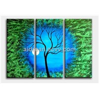 100% Hand-painted Abstract Art Landscape Oil Painting