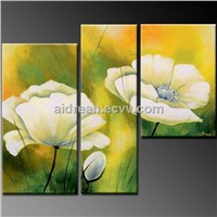 100% Handmade Modern Wall Art Flower Oil Painting On Canvas