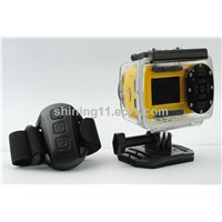 1080p helmet sport action camera with one year warranty