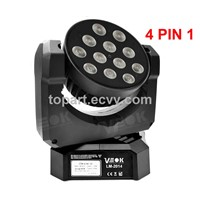 12W*12 CREE RGBW Mini LED Moving Head Light