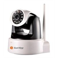 1.0 Mega Pixels HD Plug&Play WIFI IP Camera H.264 Free P2P IP Camera