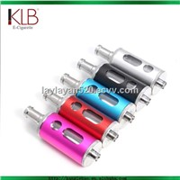 2013 Colored new pyrex dual coils tank X10 atomizer