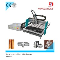 2013 professional wood cnc 6090 small router