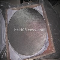 2 layer wire mesh sintered filter disc