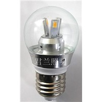 3W 5730 lamp bead LED bulb light with aluminum housing
