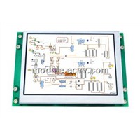 "4.3"" smart intelligent terminal lcd display module support serial interface (CJS04301)"