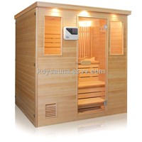 4person tradtiona steam sauna room KD-8004SC