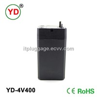 4v400mah lead acid battery