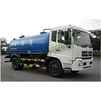 4x2 Dongfeng 10 m3 Suction Sewage Truck