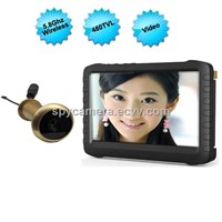 5.8G Wireless Door Peephole Camera with DVR LM-TE850H