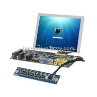 5 inch lcd skd module touch screen  with AV VGA  HDMI DVI