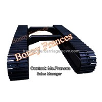 5 ton crawler steel track undercarriage(track chasis)