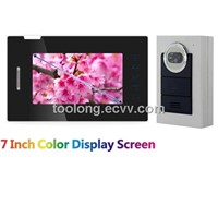 7inch Touch Screen Video Door Intercom System for Household Recordable